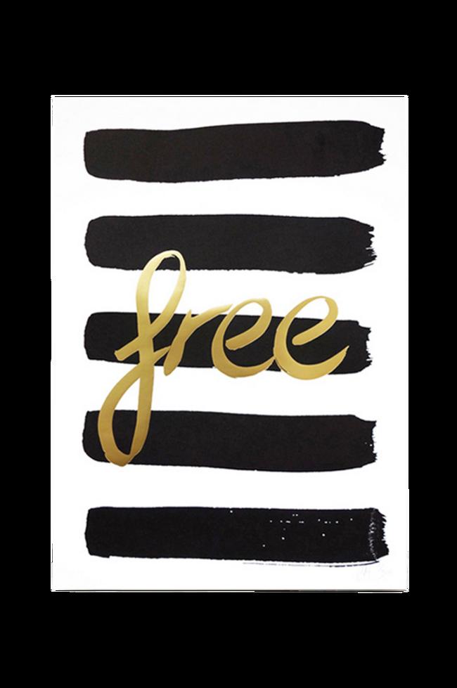 Bilde av Poster Free A3