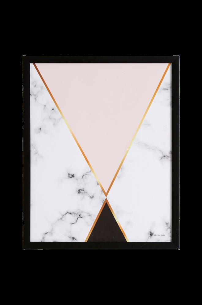 Bilde av Bilde Triangel 43x53 cm