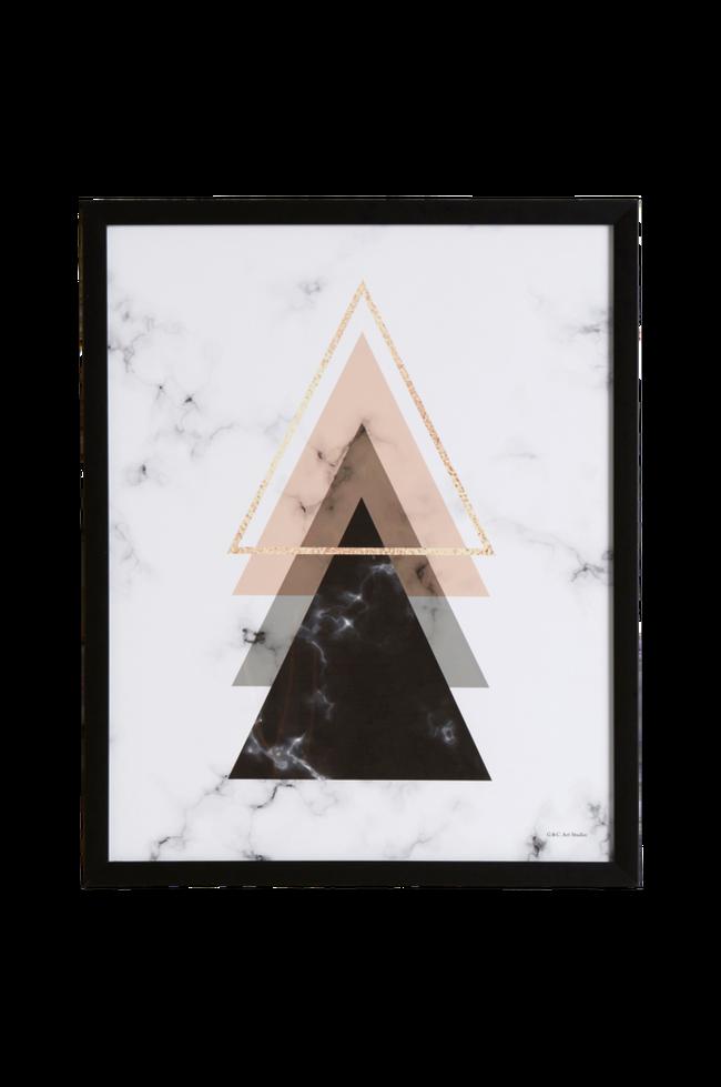 Bilde av Bilde Triangel 3 43x53 cm
