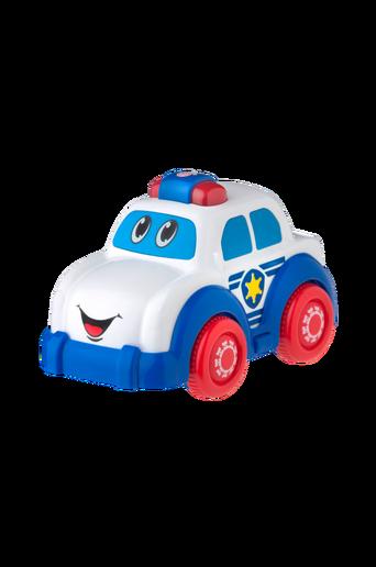 Poliisiauto, jossa valot ja äänet