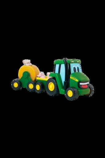 John Deere -traktori ja eläimet