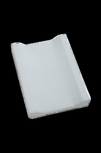 Stripe-hoitoalusta Harmaa/valkoinen
