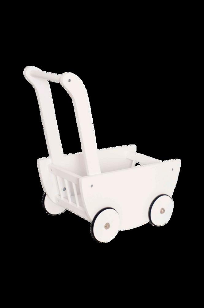 Dockvagn Vit