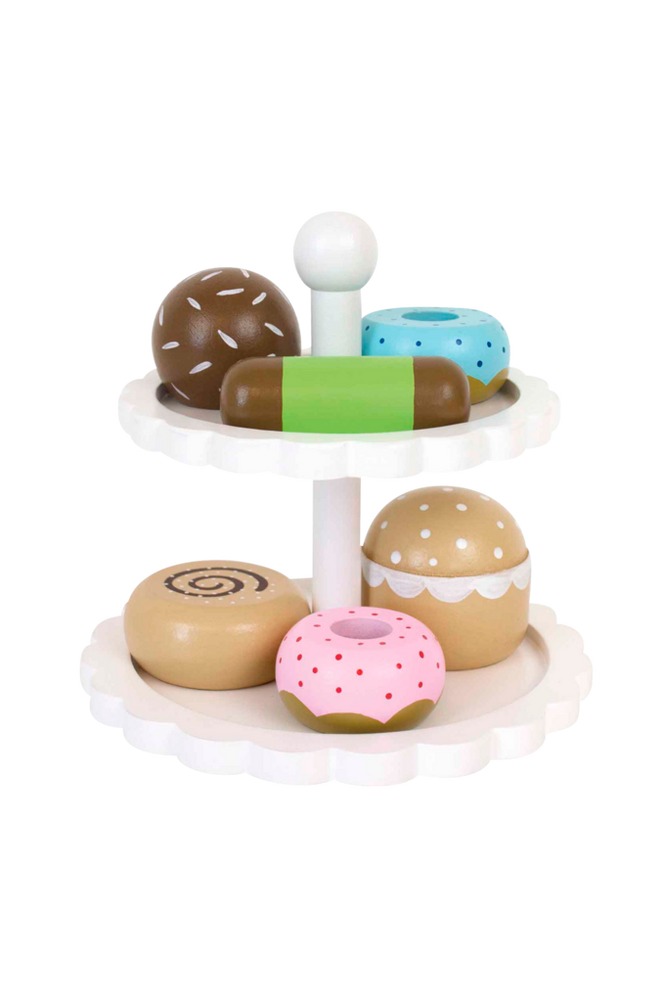 Leksaksmat Kakor Med Fat