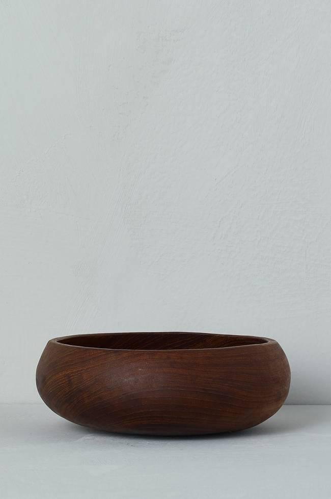 Bilde av Skål i teak, diameter 15 cm