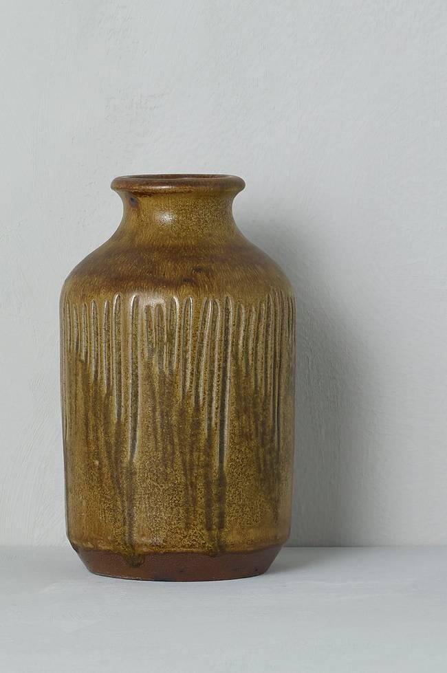 Bilde av Vase høyde 20 cm - Brun