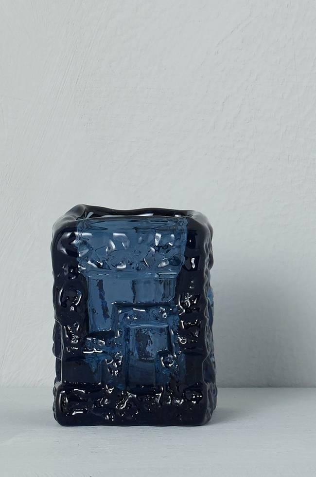 Bilde av Vase/lyslykt Ruda Glasbruk Göte Augustsson, høyde 8 cm