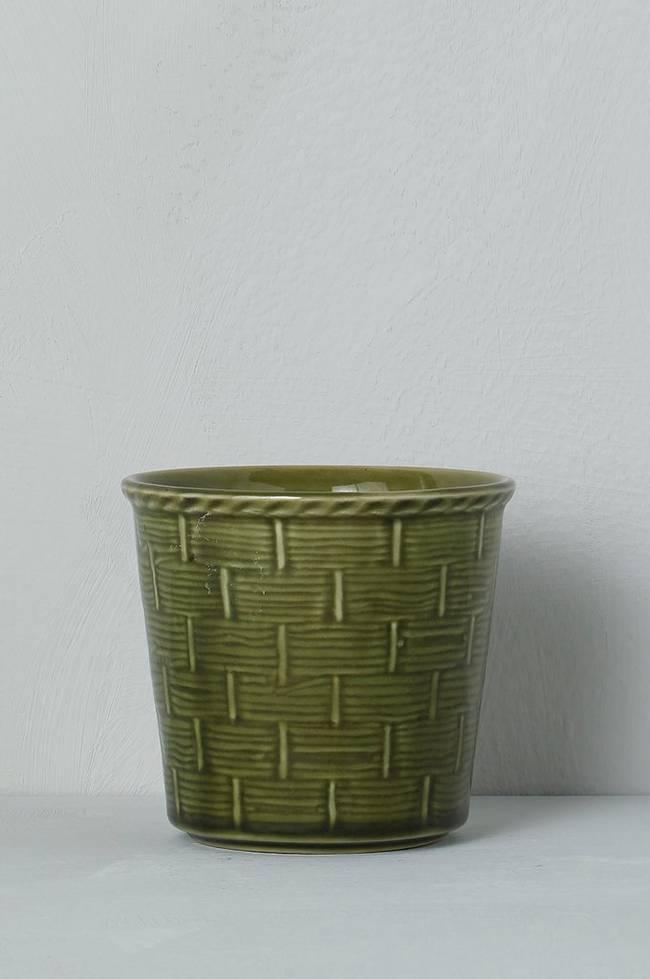 Bilde av Krukke Churchill, høyde 10 cm - Grønn