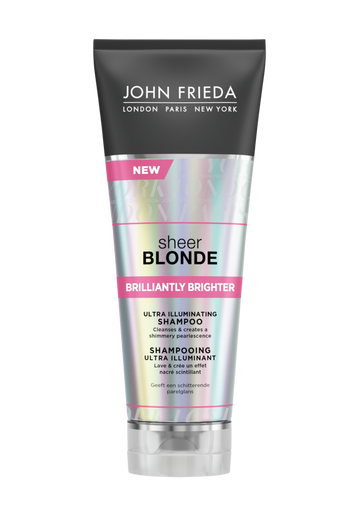 Brilliantly Brighter Sheer Blonde -shampoo, 250 ml