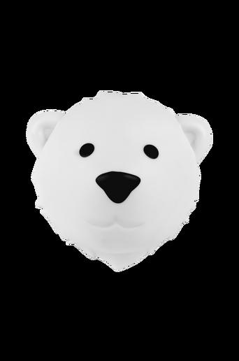 Karhu-yövalaisin, valkoinen