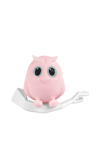 Mel-pöllö-yövalaisin, roosa