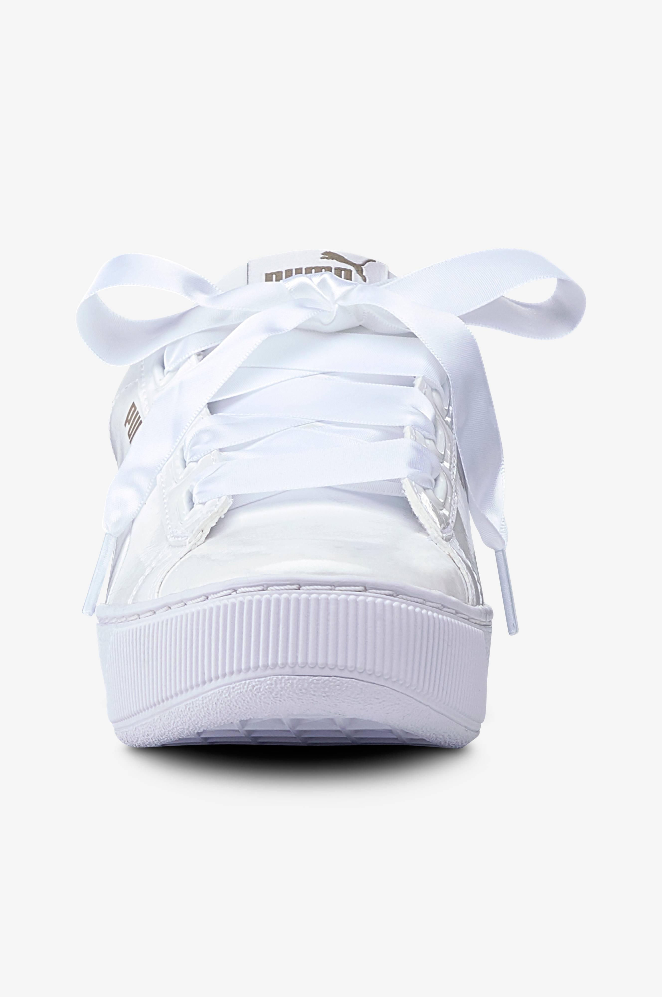 Puma Sneakers Puma Vikky Platform Ribbon P Hvit Dame