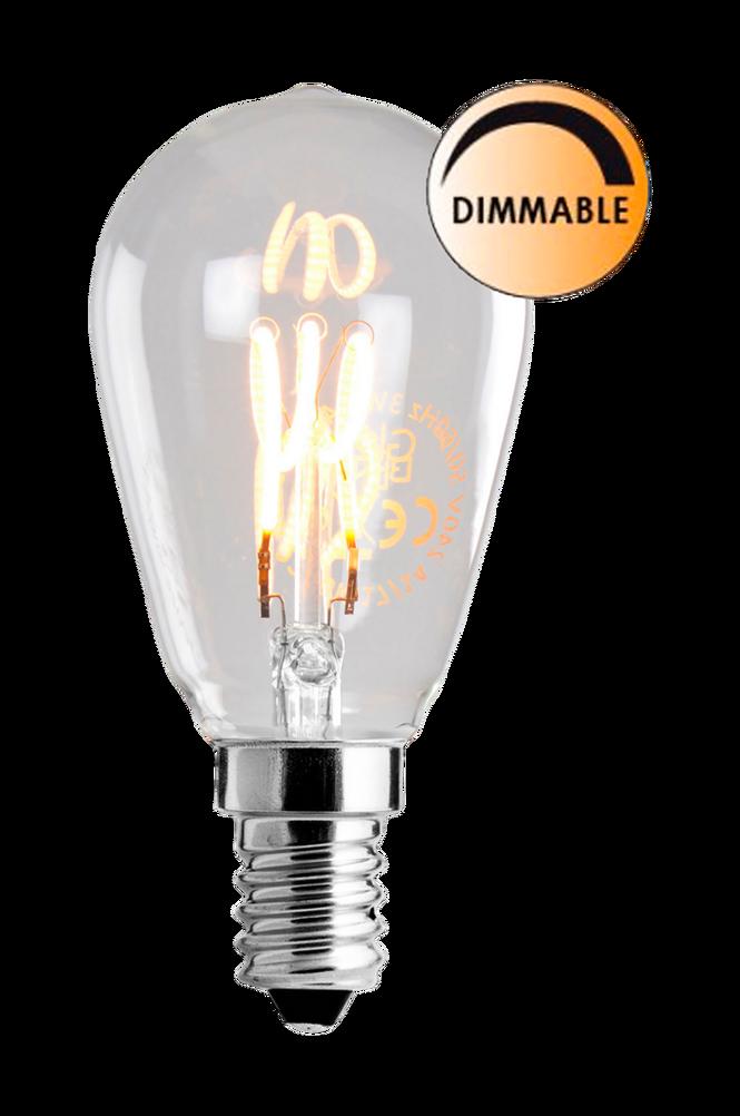Ljuskälla LED Soft Filament Dimbar Klar