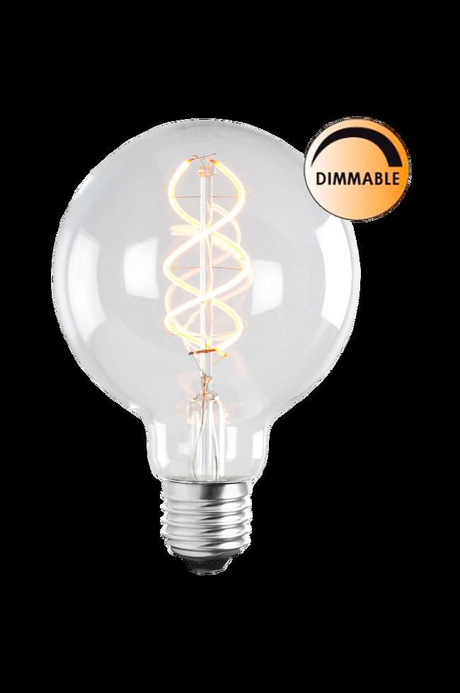 Bilde av Lyspære LED Soft Filament Dimbar Klar 100 mm