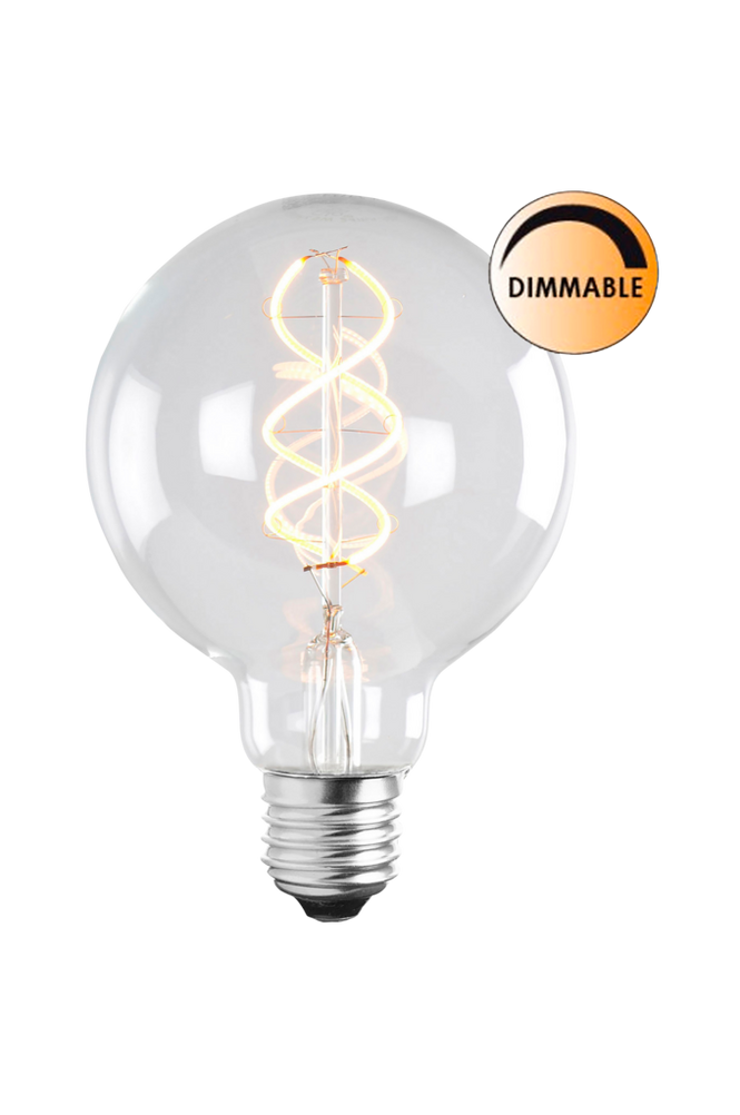 Ljuskälla LED Soft Filament Dimbar Klar 100 mm