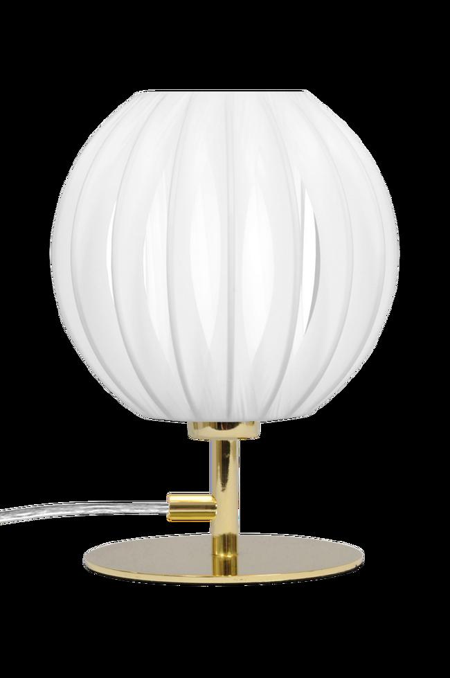 Bilde av Bordlampe Plastband Mini Messing