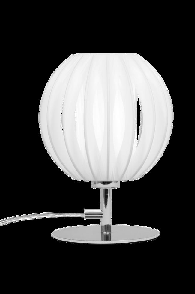 Bilde av Bordlampe Plastband Mini Krom