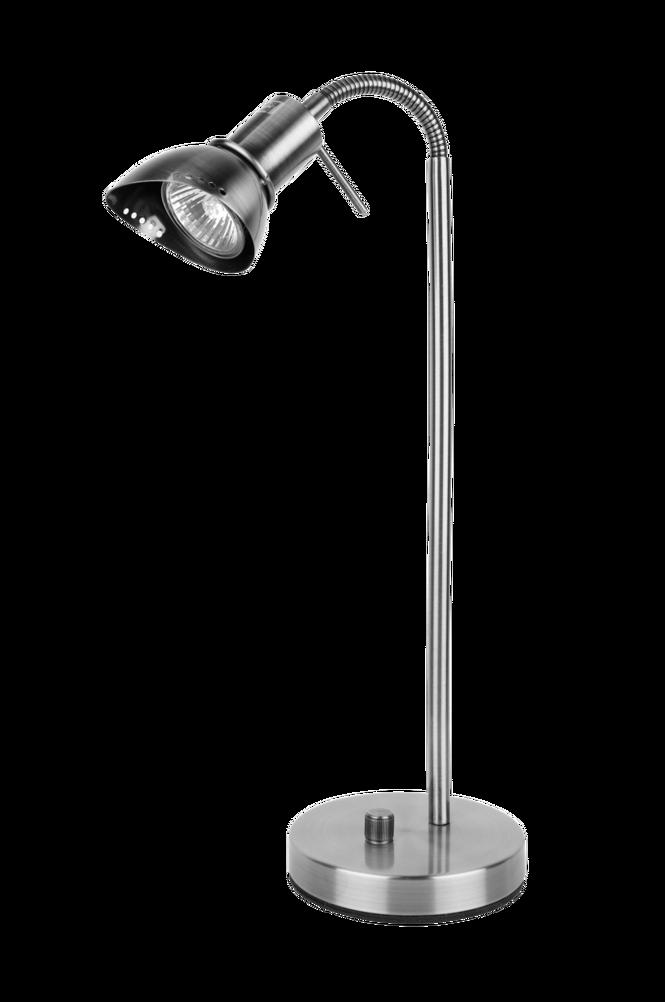 Bordslampa Ingo Borstad Krom