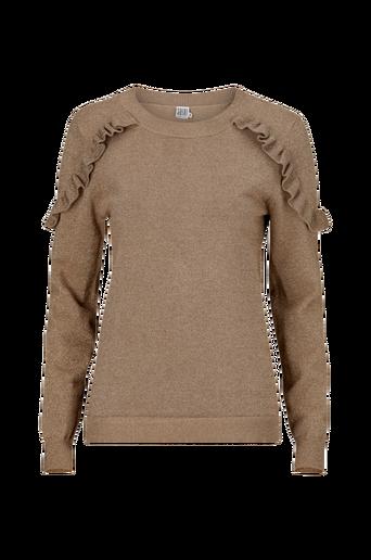 Glitter Sweater Ruffles -neulepusero