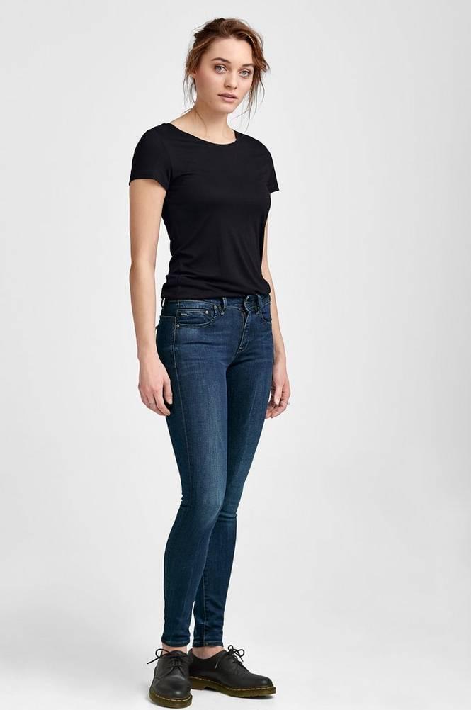 G-Star Jeans Midge Zip Mid Skinny