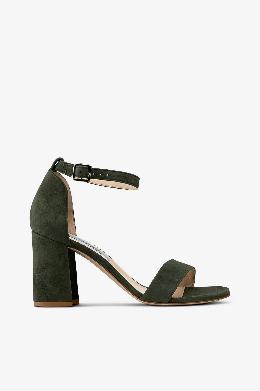 Sandaletit, joissa tolppakorko