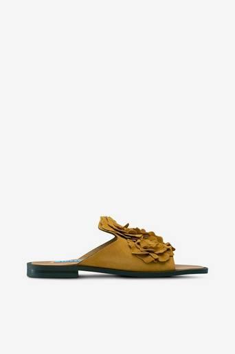 Slip in -kengät, joissa kukkia