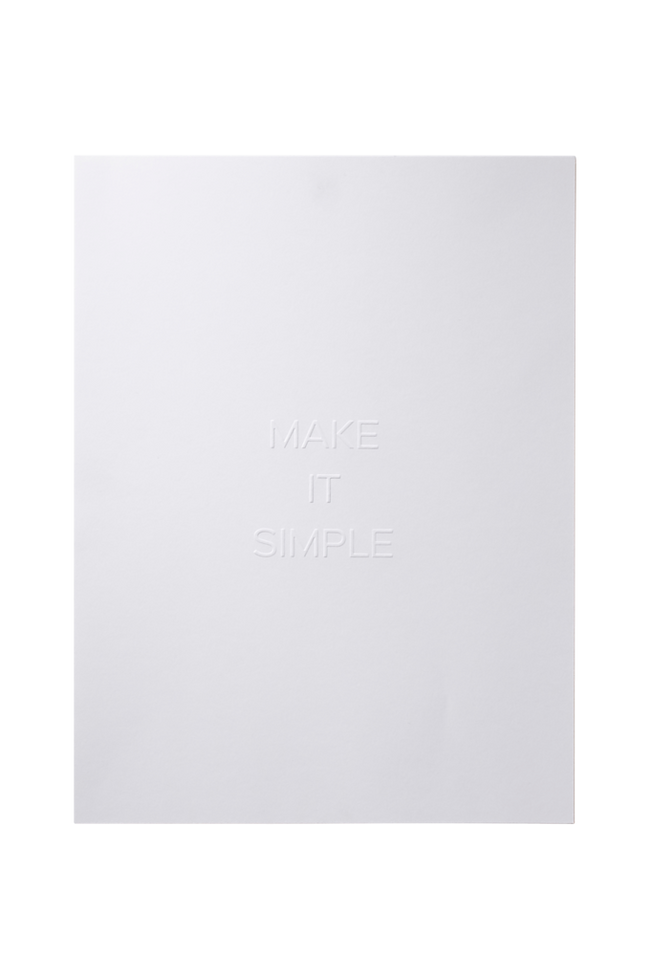 Bilde av Poster Simple 30x40 cm