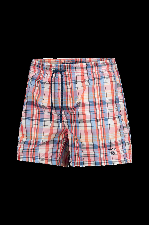 Pastel Check Swim Shorts -uimashortsit