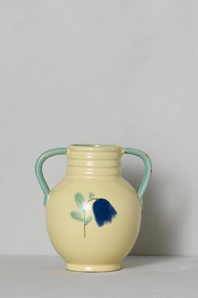 Bilde av Vase, Anna-Lisa Thomson Upsala-Ekeby, høyde 14,5 cm - Flerfarget