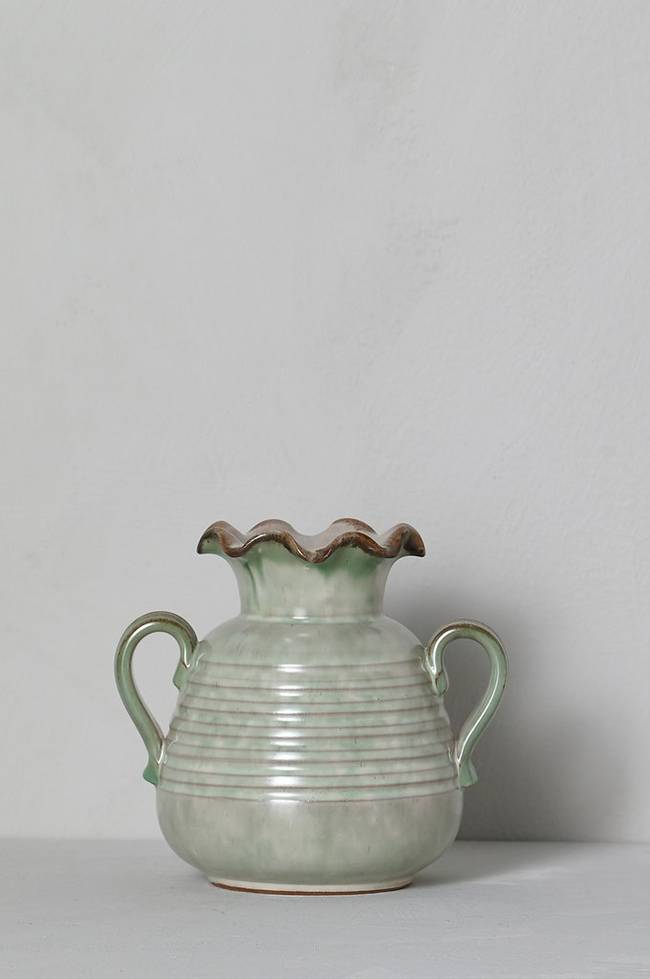 Bilde av Vase, høyde 14,5 cm - Grønn
