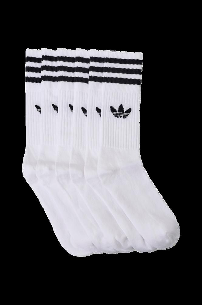 adidas Originals Sportsstrømpe Solid Crew Sock, 3-pak