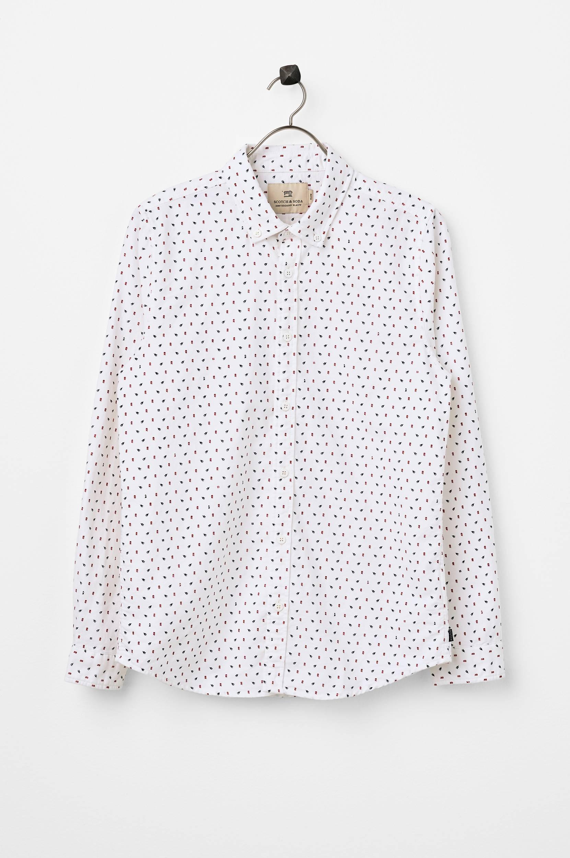Mini-Printed Shirt -paita, slim fit