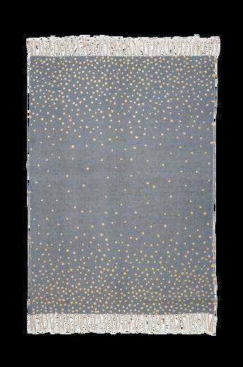Bomull-matto 90x120 cm, harmaa/kulta