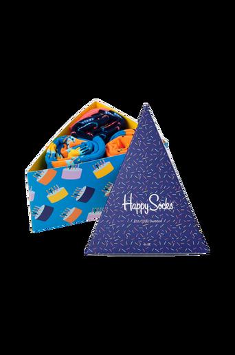 Lahjapakkaus Happy Birthday Gift Box, 3 paria