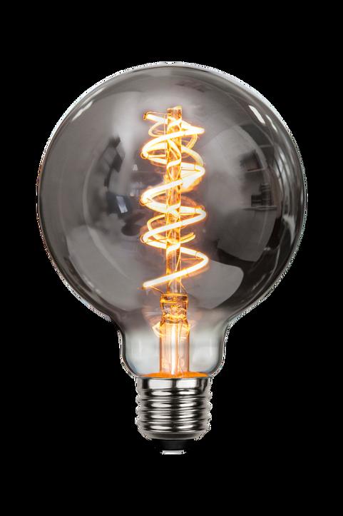 LED-lampa E27 G95 Flexifilament