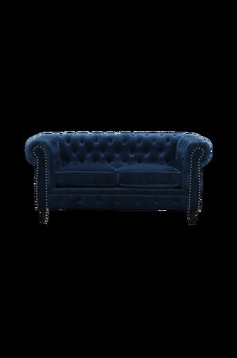 2:n istuttava Cambridge Sammet -sohva