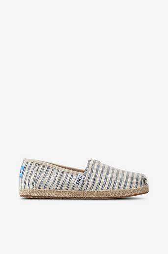 Classic Sky Woven Strip Rope Sole -espadrillot