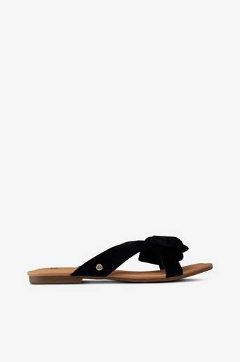 W Fonda -sandaalit, slip-in-malli mokkaa