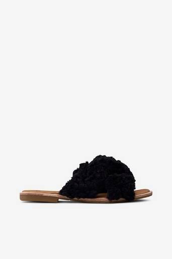 W Joni -sandaalit, slip-in-malli lampaankarvaa