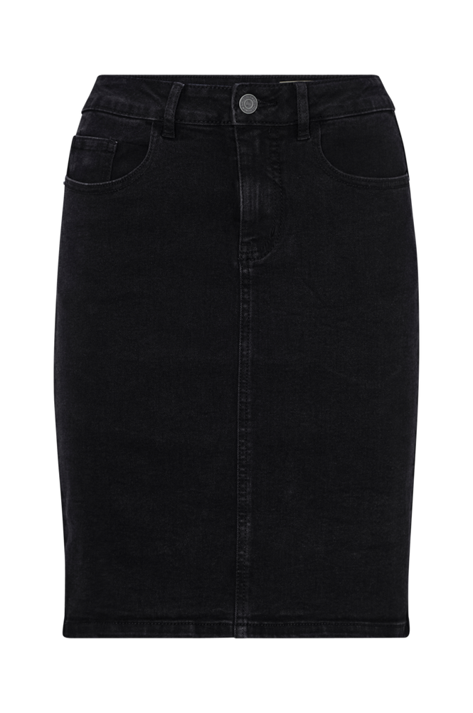 Vero Moda Denimnederdel vmHot Nine HW DNM Pencil Skirt