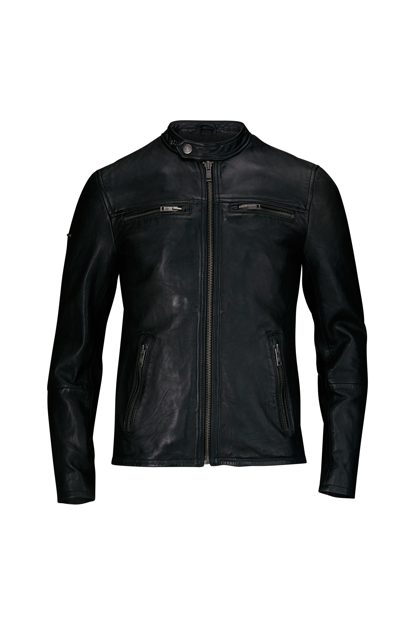 Real Hero Leather Biker -nahkatakki