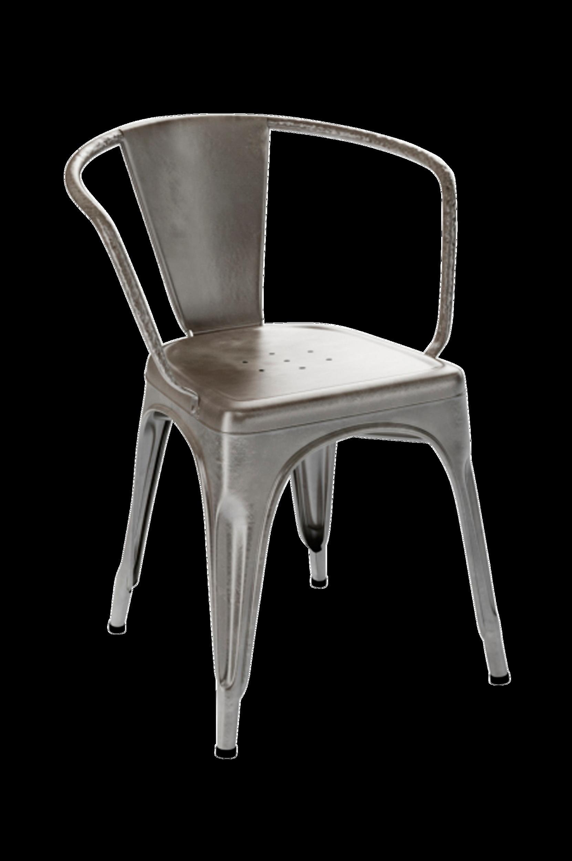 A56 -tuoli, jossa käsinoja
