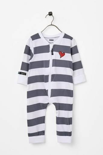 Pyjama, jossa vetoketju