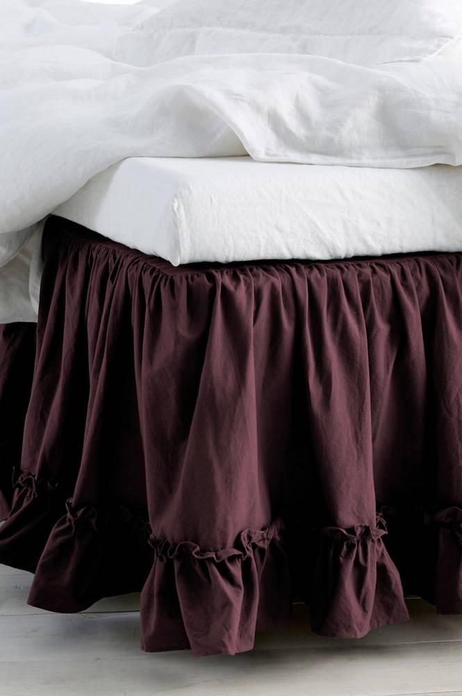 Sängkappa Juliette Frill höjd 45 cm