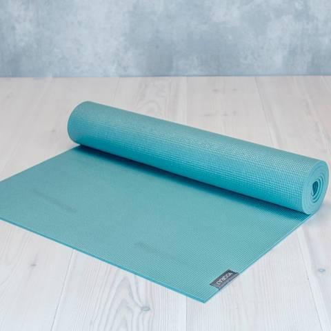 Allround yogamatta 4mm Grön