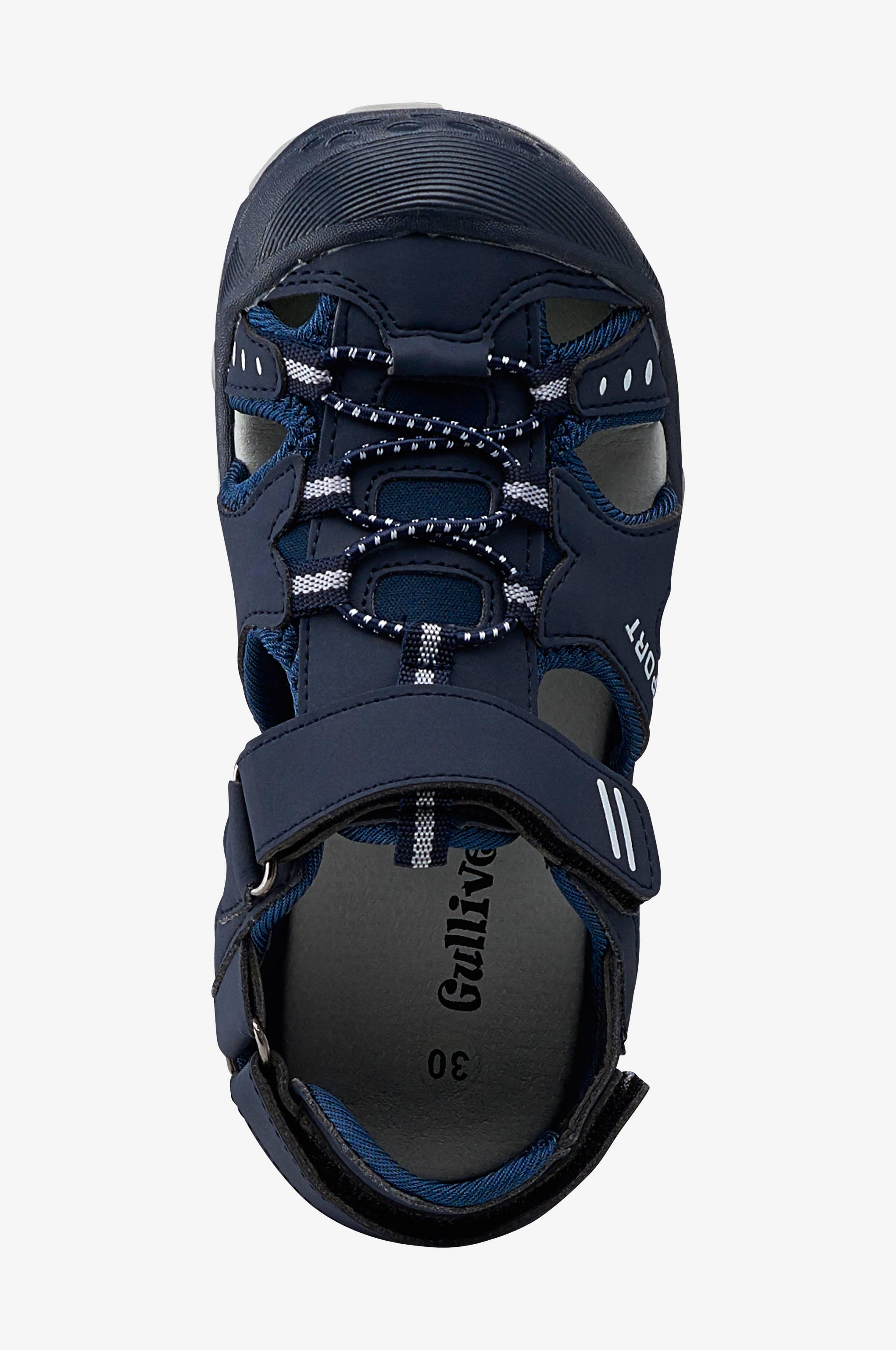 Sandaler med snabbsnörning