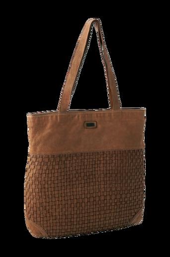 Tilava kassimallinen laukku