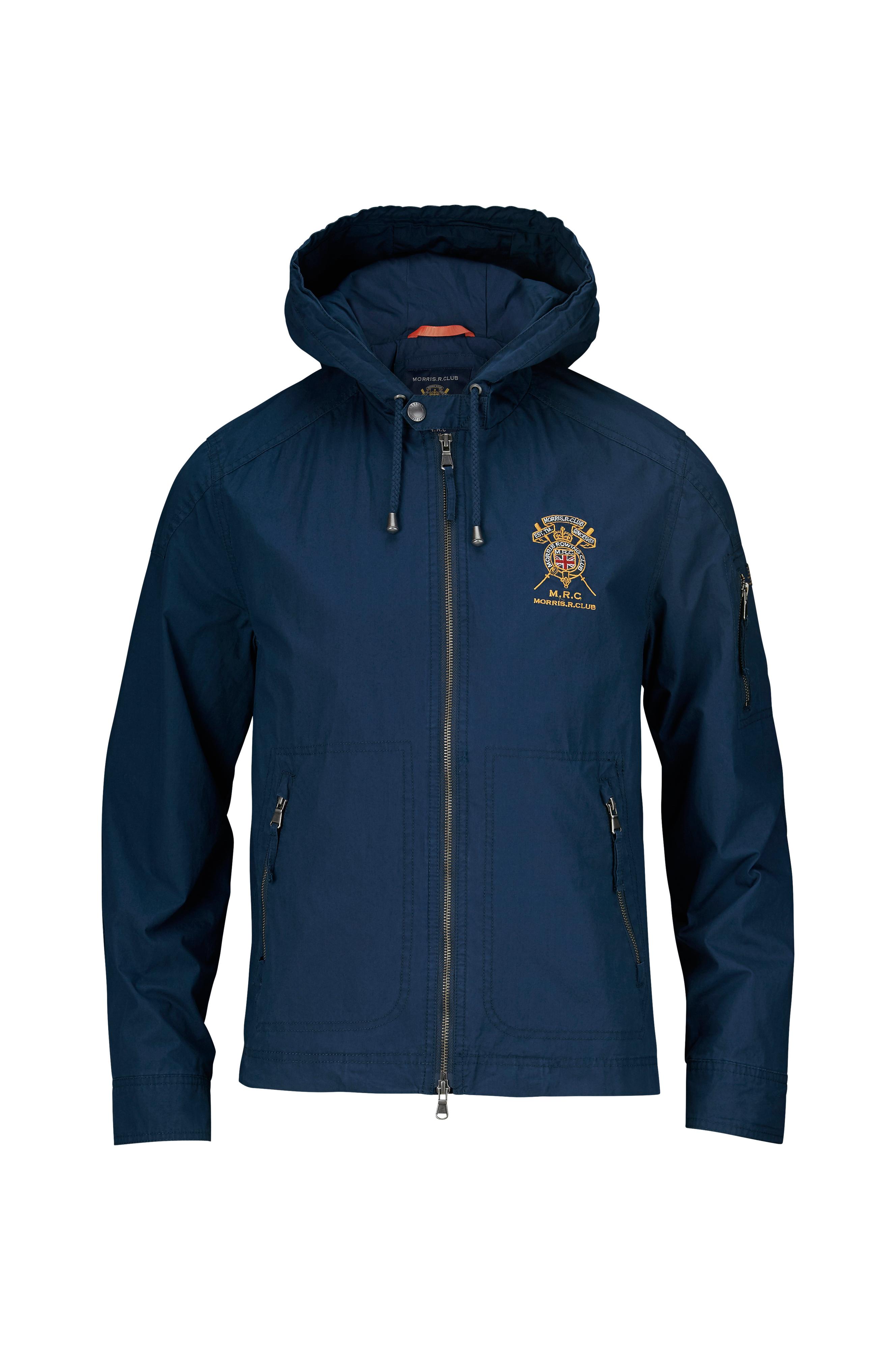 Morris Jacka Mortlake Hooded Jacket Blå Jackor & rockar