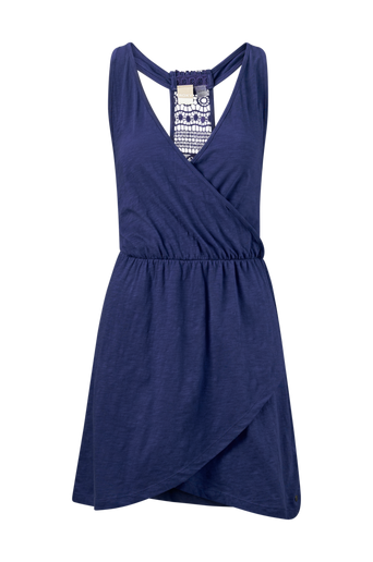 Ocean Skyline Wrap Dress -mekko