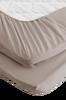 Bilde av Dra på-laken Basic i økologisk bomull, 5 størrelser